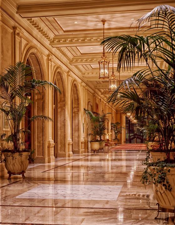 Foyer på hotel