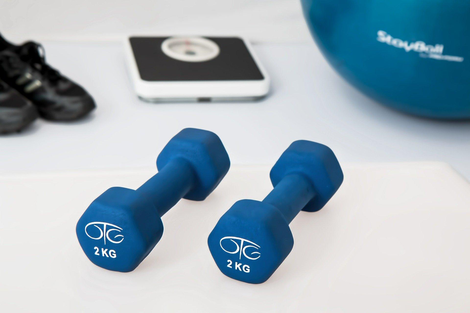 fysioterapi med vægte